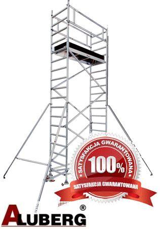 Rusztowanie aluminiowe wieża aluminiowa Warszawa Wynajem