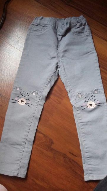 Spodnie jeansy h&m 98