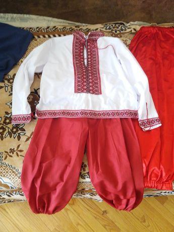 Шаровари червоні