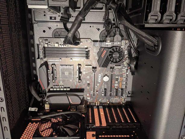 MSI X570 - 16GB RAM - obudowa Thermaltake - zasilacz Corsair RMx550W