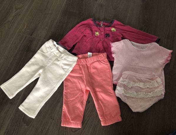 Комплект речей одягу для дівчинки пів року