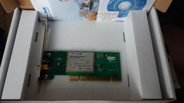 karta sieciowa WIFI PCI TP-LINK WN551G 2.4GHz