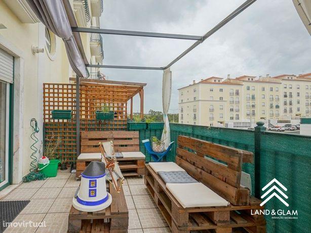 Exclusivo! Apartamento T2 com terraços em Mafra