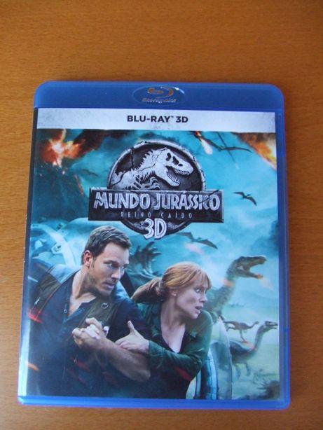 Blu - Ray 3D Mundo Jurássico