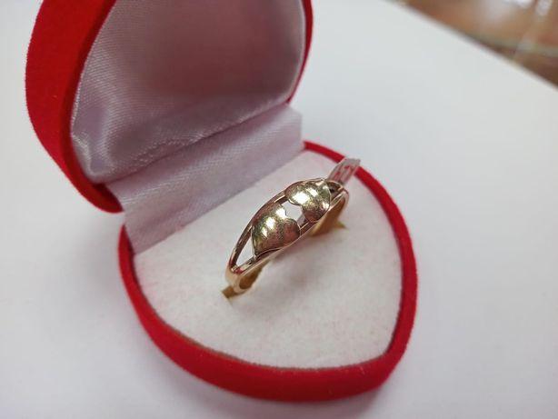 Złoty pieścionek 585 , rozmiar 24