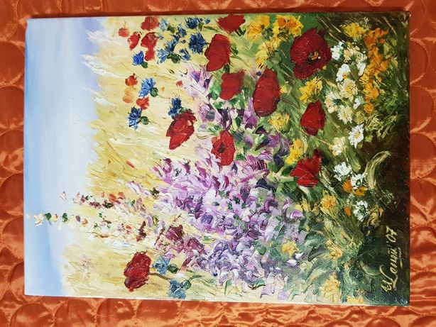 Obraz olejny Agart