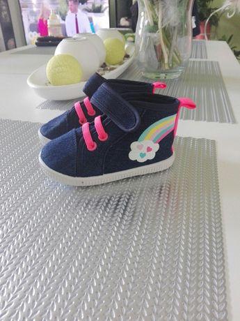 Nowe buty buciki jeansowe