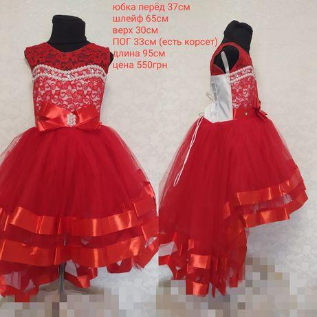 Платье детское новогодние, платье карнавальное, платье нарядное