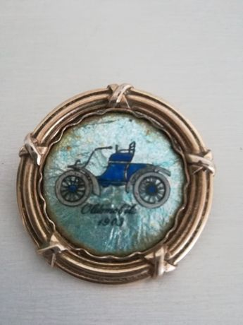 Alfinete de Peito Vintage - Para Amantes de Carros Clássicos