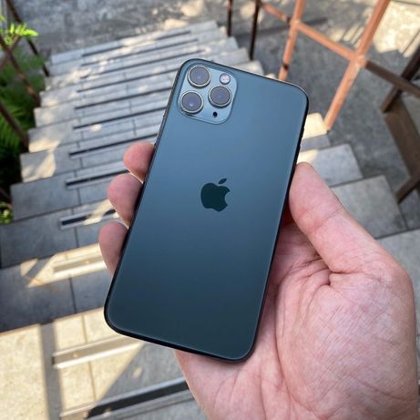 Iphone 11pro 64,256 gb green