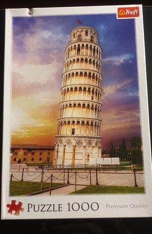 Puzzle trefl wieża pisańska 1000 elementów
