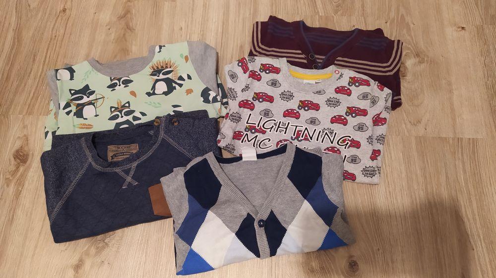 Bluzy sweterki dla chłopca 80-92 Knurów - image 1