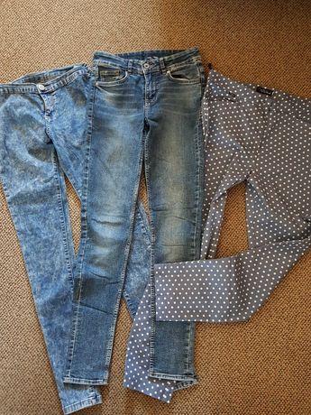 spodnie dżinsowe lycra rozmiar 34 i 40
