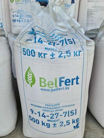 Nawóz NPK 9-14-27+7S big bag BelFert całosamochodowo