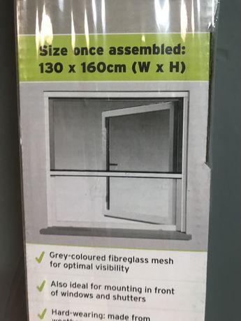Moskitiera okienna 130x160 cm