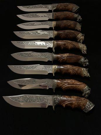 Эксклюзивные ножи ручной работы, охотничьи