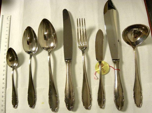 столовый набор вилки ложки нож винтаж посеребренные антик WMF антик