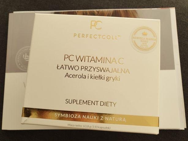 PC Witamina C Łatwo Przyswajalna Acerola i Kełki Gryki