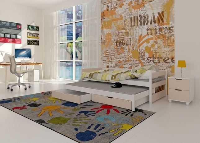 Parterowe łóżko Toni różne kolory! Materace w zestawie! Niska cena