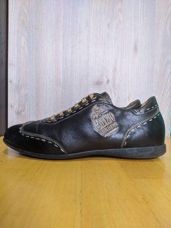 Кроссовки туфли кожаные Galizio Torresi !!!