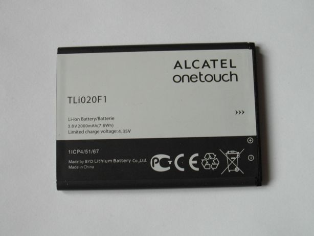 Bateria ALCATEL onetouch, nowa !