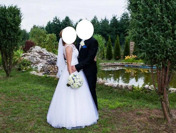 Suknia ślubna jak Adria r.38