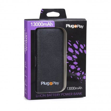 Power Bank PLUG & PLAY 13000MA
