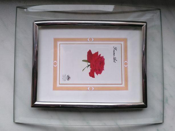 Ramka na zdjęcia 9 x 13 Szklana