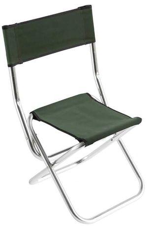 Wytrzymałe składane krzesło Mikado dla wędkarza