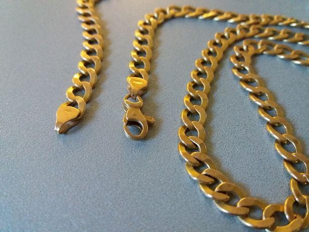 łańcuch ze złota, złoto pr. 585, lancuszek 14K.