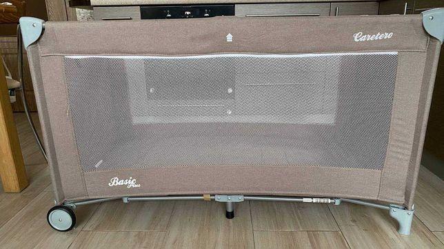 Манеж-кровать Caretero Basic Plus Beige в идеальном состоянии