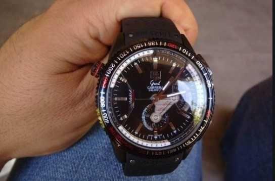 Механика GRAND - Tag Heuer   Часы CARRERA Calibre 36. Мужские наручные
