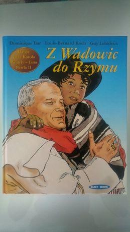 Z Wadowic do Rzymu komiks
