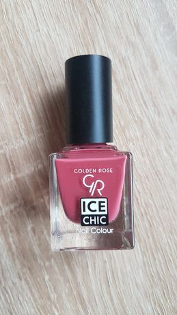 Lakier do paznokci ice chic 23 golden rose nowy