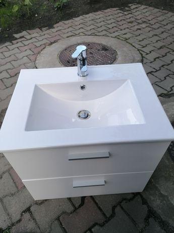 Zestaw szafka umywalka z baterią