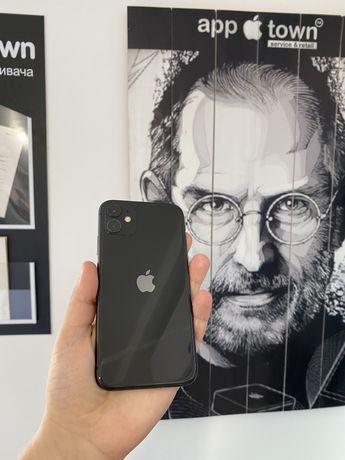 Iphone 11 64GB Black NEVERLOCK/Гарантия/Магазин/Рассрочка