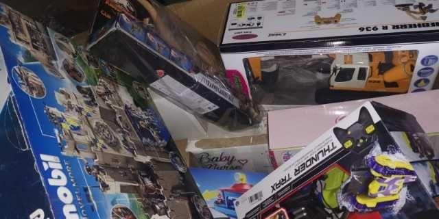 Palety mix towarów z AMAZON zabawki nowe, zwroty, powystawowe