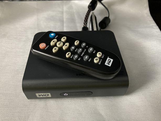 WD TV Live ZESTAW odtwarzacz multimedialny WiFi