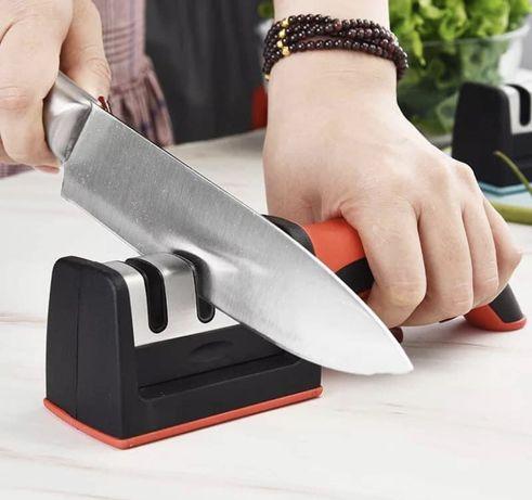 Afiador de facas 3 niveis