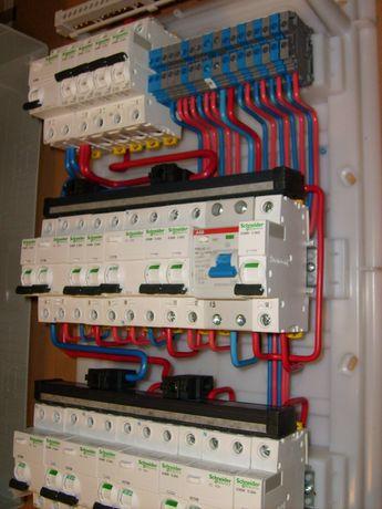 Электромонтаж квартир и частных домов