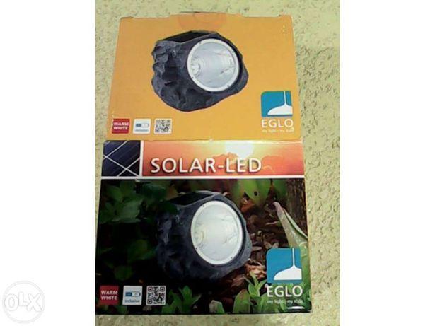 foco solar com LEDs para exterior