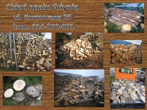 drewno sezonowane drzewo wysuszone próżniowo buk,dąb grab