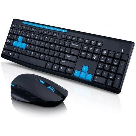 Беспроводной Wireless комплект клавиатура + мышь HK3800