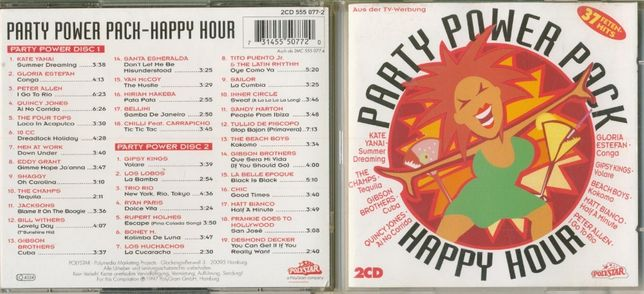 Party Power Pack Happy Hour 2 CD 1997