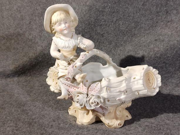 Porcelanowa Figurka z 1870r. Kolekcjonerska