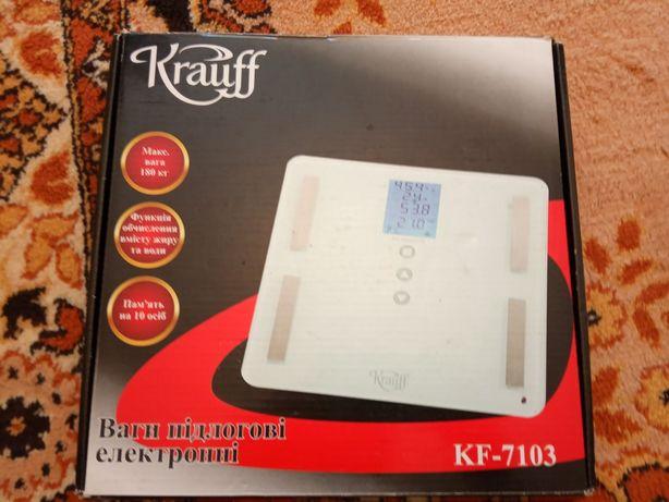 Весы напольные KRAUFF KF 7103 1500 рублей