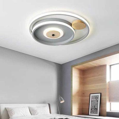Lampa sufitowa plafon skandynawski LED