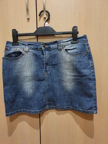 Spódnica krótka uciągliwy dżins