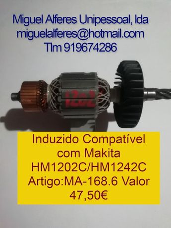 Induzidos Makita HM1202/HR3000C/HR4001/HR4500C/HR5000K/HR4000C