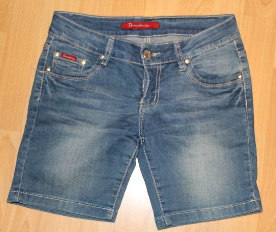 spodenki jeansowe,krótkie,rozm 27, lato,dżins,